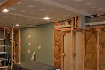 refinish basement wynnewood work