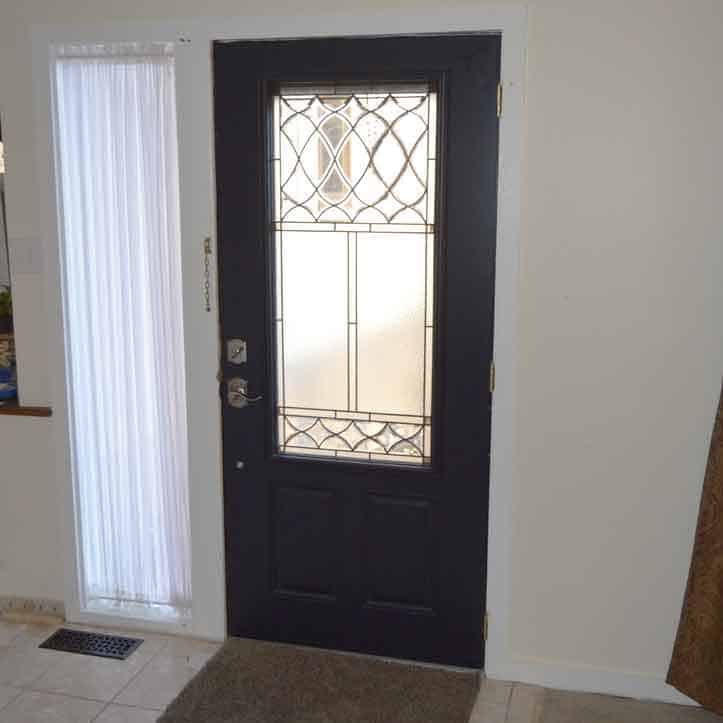 install entry door