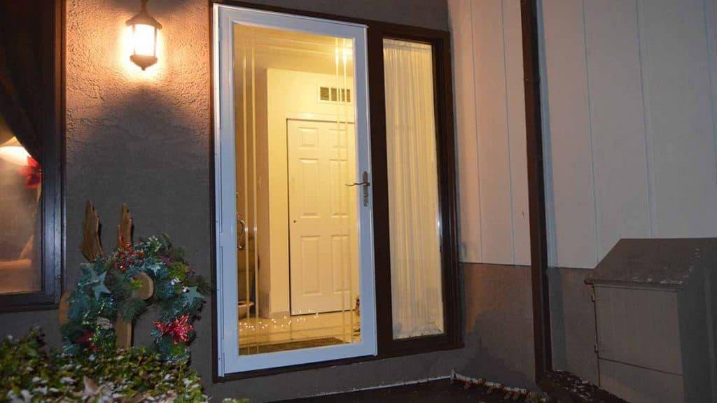 installed emco storm door