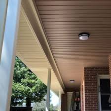 aluminum capping on porch roof