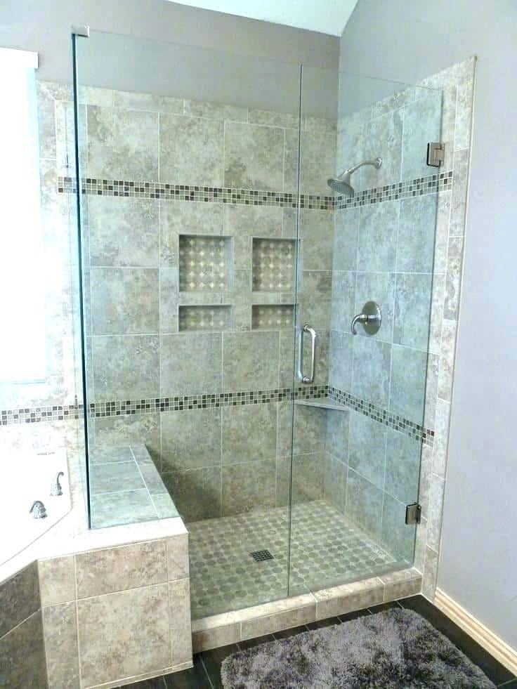 tub or luxury shower stall